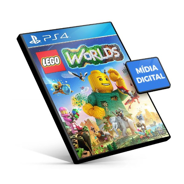 Lego Worlds - PS4 Mídia Digital