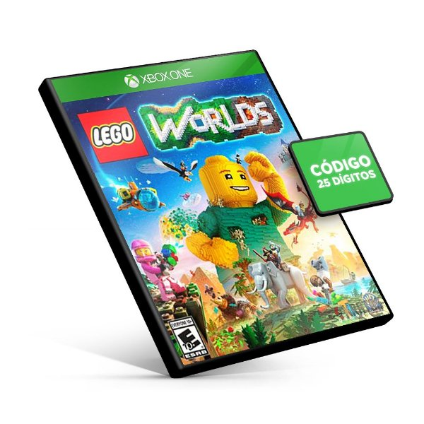 LEGO Worlds - Xbox One - Código 25 Dígitos