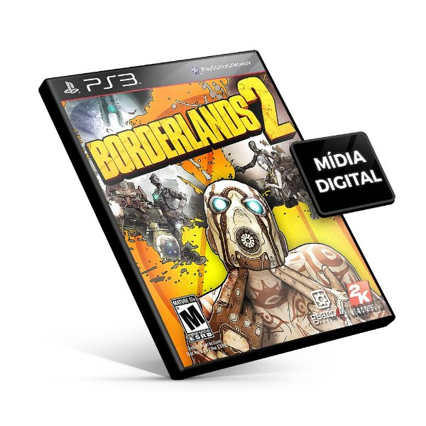 Borderlands 2 -  PS3 Mídia Digital