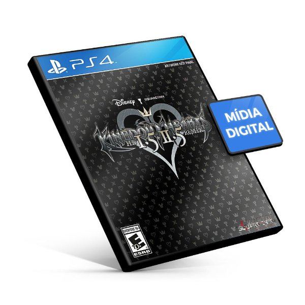 Kingdom Hearts HD 1.5 - PS4 Mídia Digital