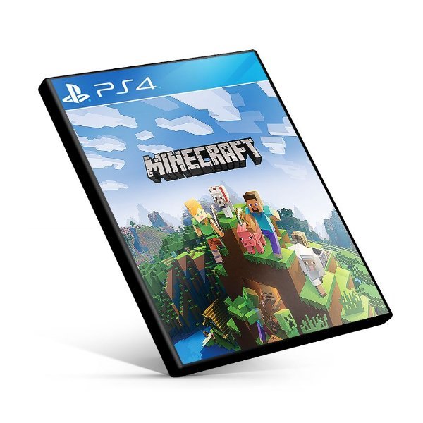 Minecraft - PS4 Mídia Digital
