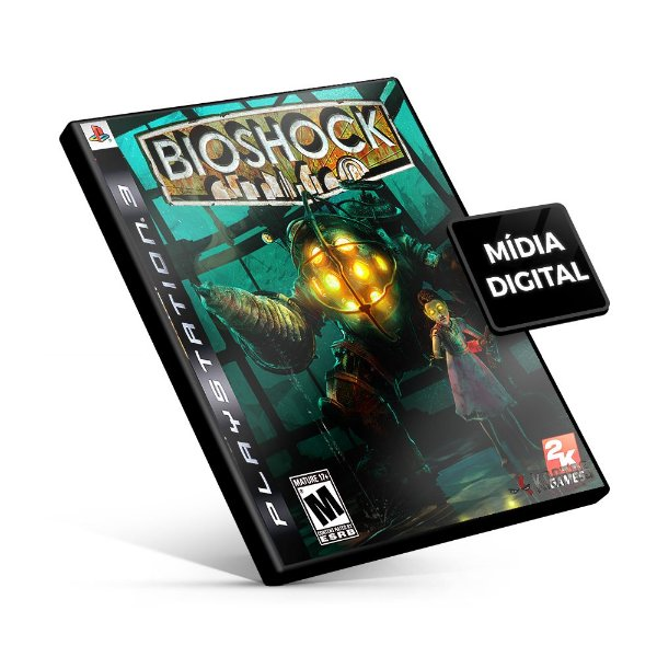 BioShock - PS3 Mídia Digital