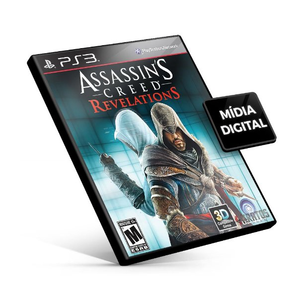 Assassin's Creed® Revelations - PS3 Mídia Digital
