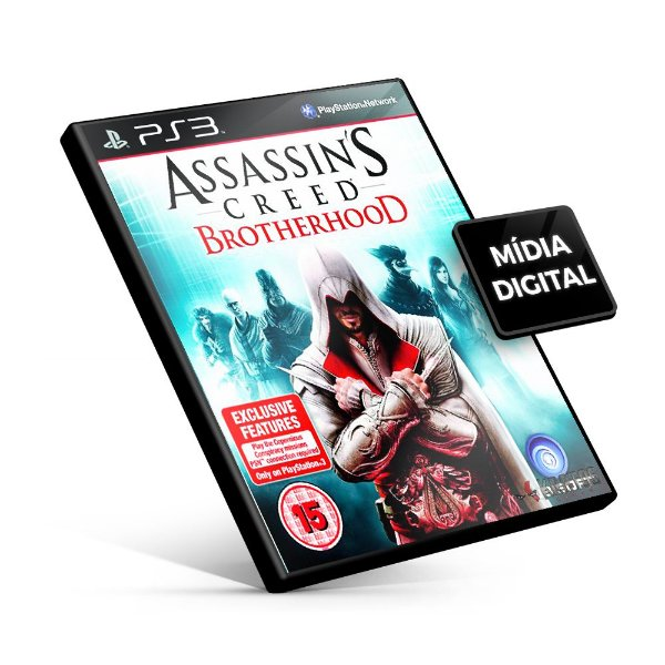 Assassin's Creed® Brotherhood - PS3 Mídia Digital