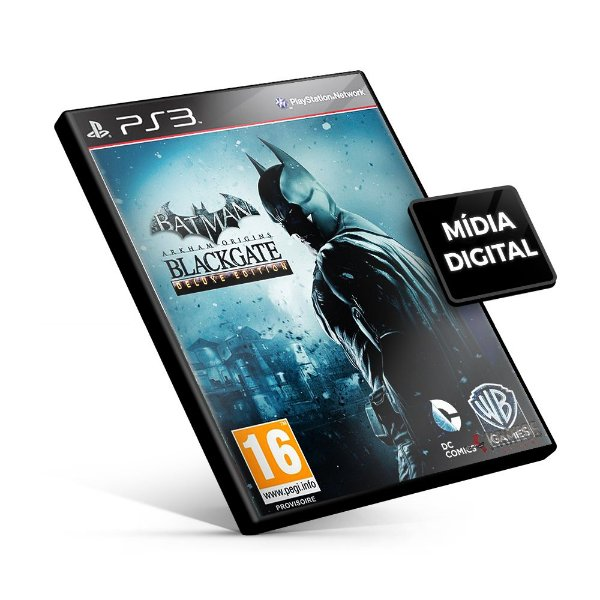 Batman Arkham Origins Blackgate – Deluxe Edition - PS3 Mídia Digital