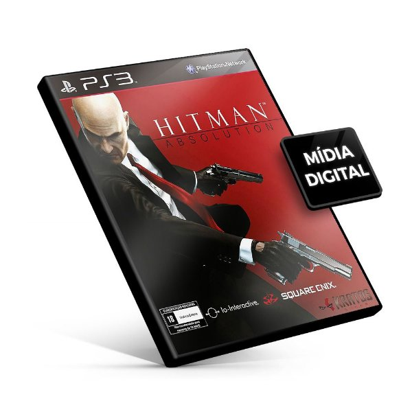 Hitman Absolution - PS3 Mídia Digital