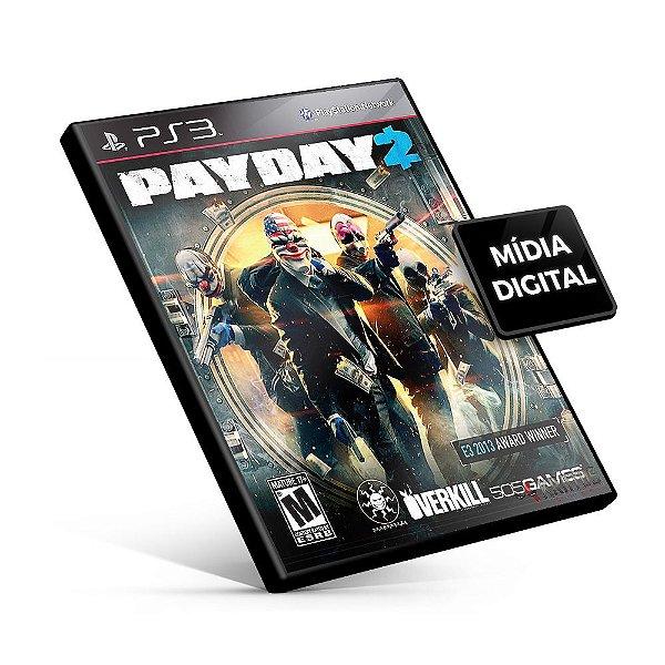 Payday 2 - PS3 Mídia Digital