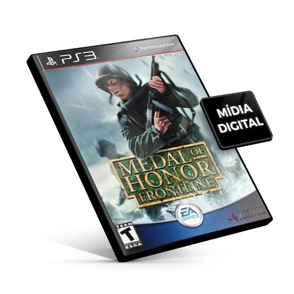 Medal of Honor Frontline - PS3 Mídia Digital