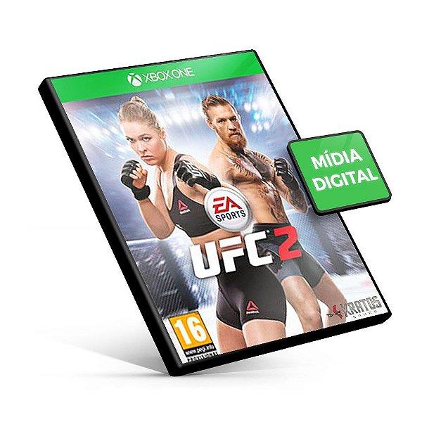 UFC 2 - Xbox One - Código 25 Dígitos