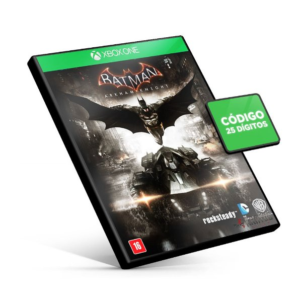 Batman Arkham Knight - Xbox One Código 25 Dígitos