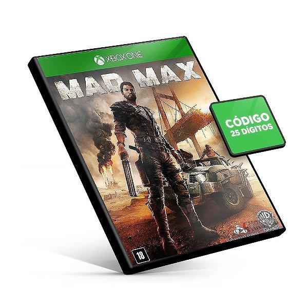Mad Max - Xbox One - Código 25 Dígitos
