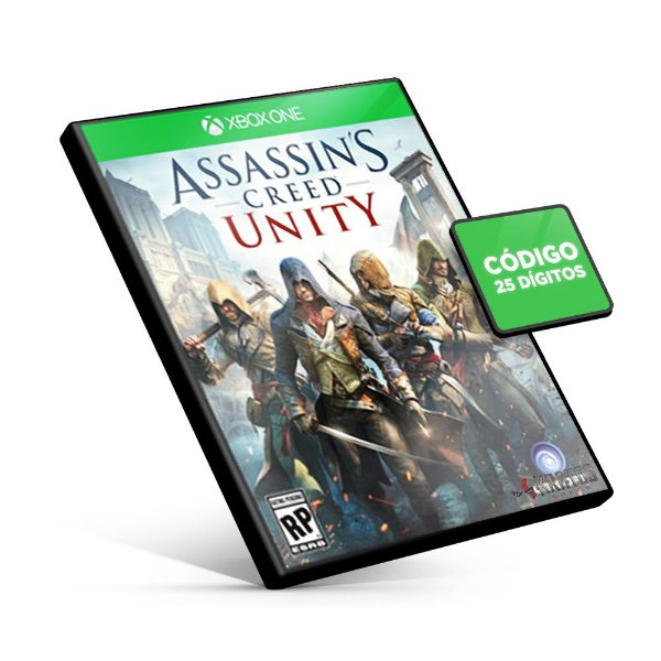 Assassin's Creed Unity - Xbox One - Código 25 Dígitos
