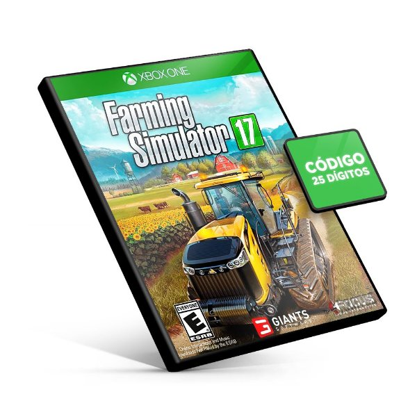 Farming Simulator 17 - Xbox One - Código 25 Dígitos