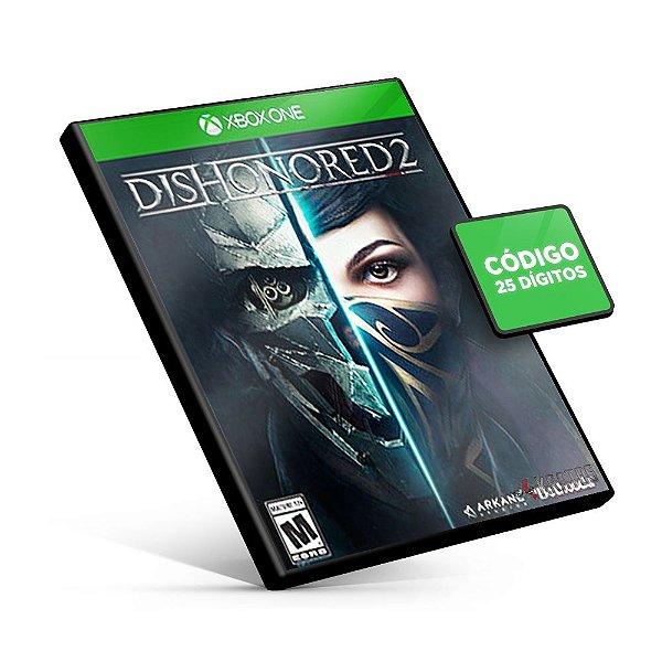 Dishonored 2 - Xbox One - Código 25 Dígitos