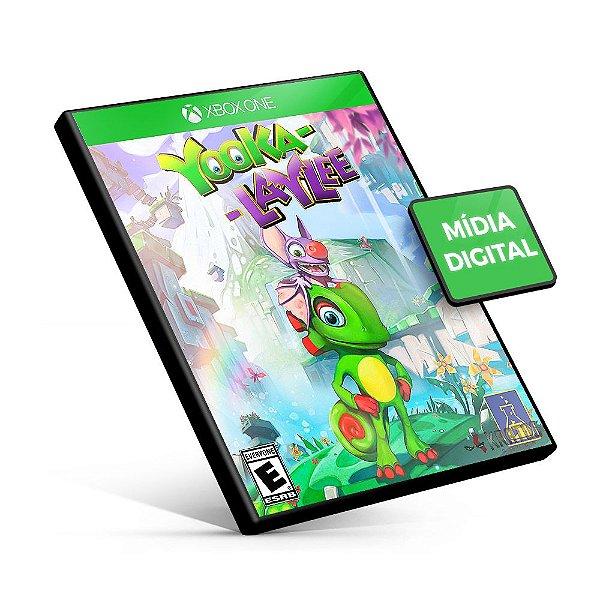 Yooka-Laylee - Xbox One - Código 25 Dígitos
