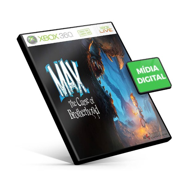 Max: The Curse of Brotherhood - Xbox 360 - Código 25 Dígitos