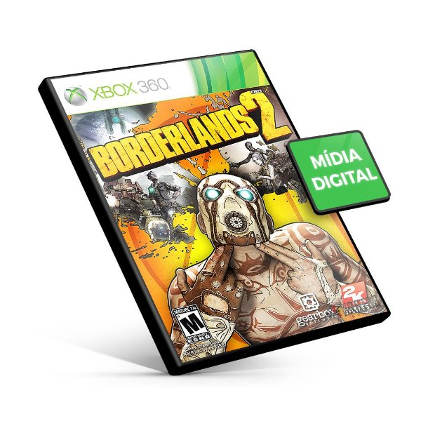 Borderlands 2 - Xbox 360 - Código 25 Dígitos