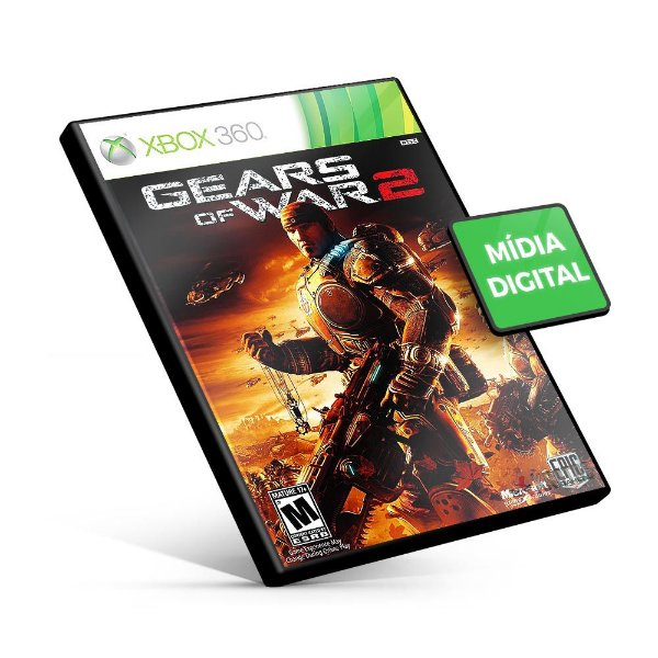 Gears of War 2 - Xbox 360 - Código 25 Dígitos