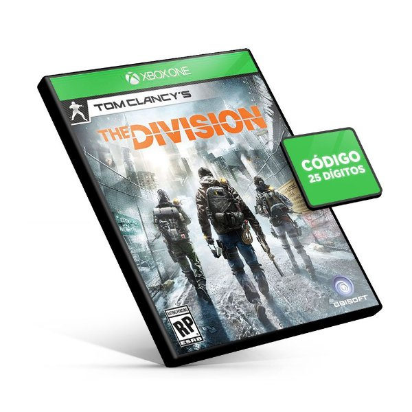 Tom Clancy's The Division - Xbox One - Código 25 Dígitos