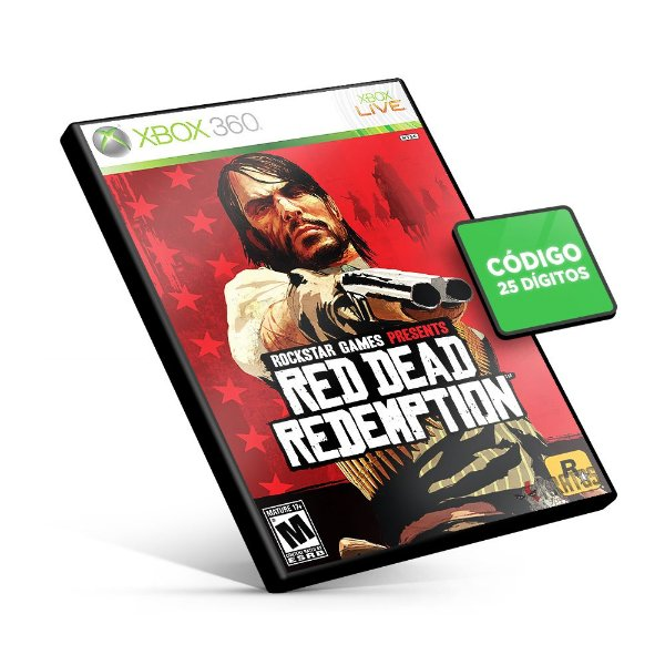 Red Dead Redemption - Xbox 360 - Código 25 Dígitos Americano