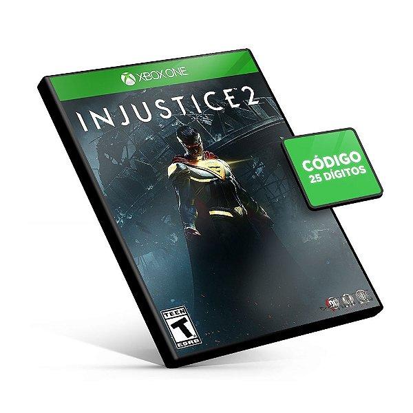 Injustice™ 2 - Xbox One - Código 25 Dígitos