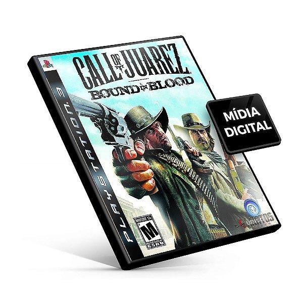 Call of Juarez®: Bound in Blood - PS3 Mídia Digital