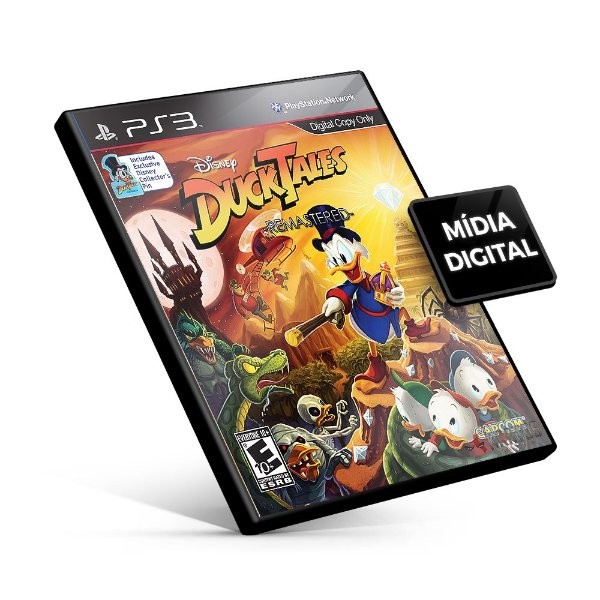 DuckTales: Remastered - PS3 Mídia Digital