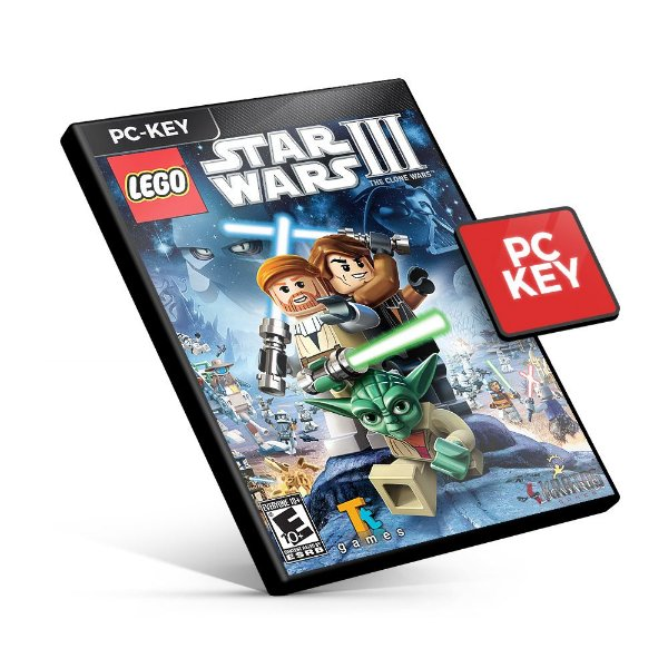 LEGO Star Wars III The Clone Wars - PC KEY