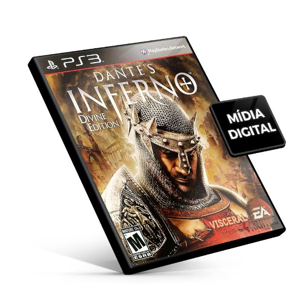 Dante's Inferno - PS3 Mídia Digital