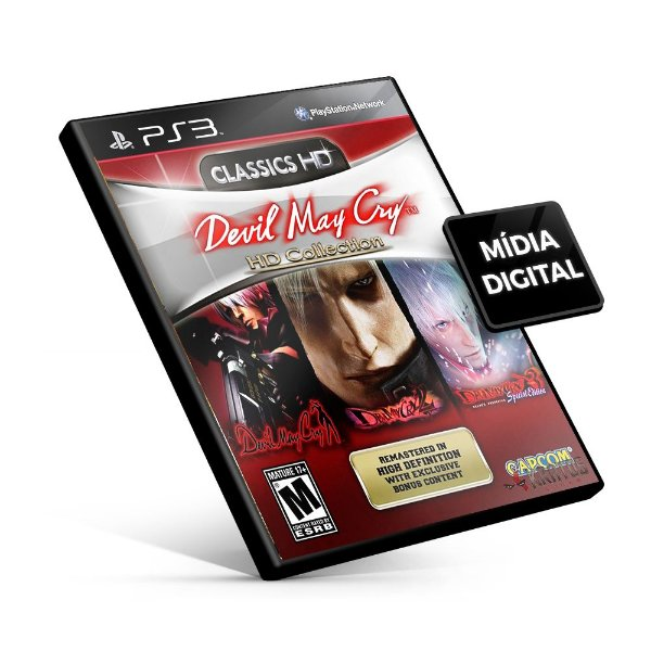 Devil May Cry® HD Collection - PS3 Mídia Digital