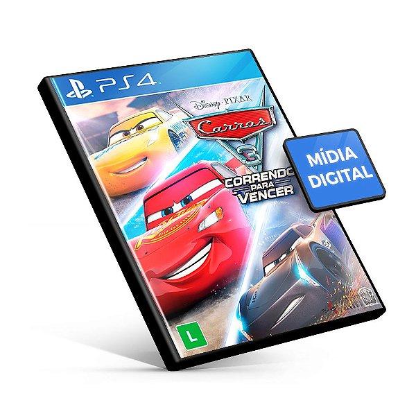 Carros 3: Correndo para Vencer - PS4 Mídia Digital