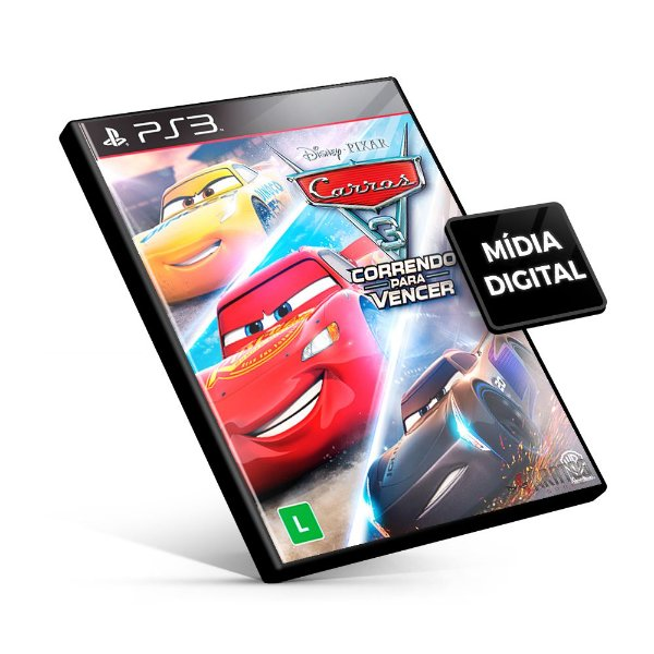 Carros 3: Correndo para Vencer - PS3 Mídia Digital
