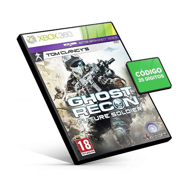 Ghost Recon: Future Soldier - Código 25 Dígitos