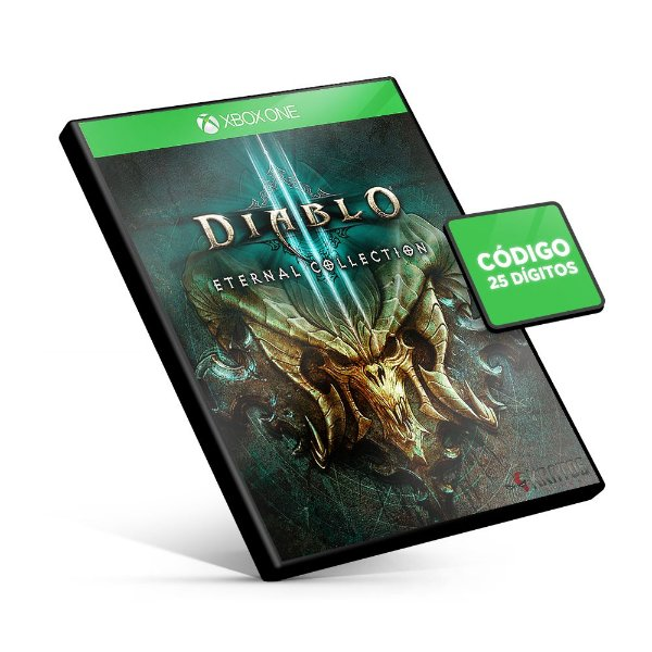 Diablo III: Eternal Collection - Xbox One - Código 25 Dígitos
