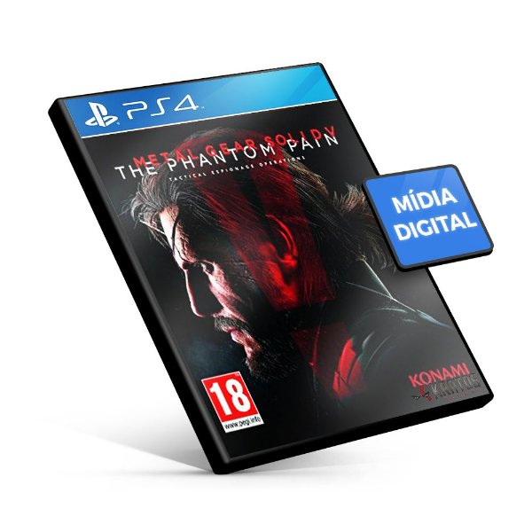 Metal Gear Solid V: The Phantom Pain - PS4 Mídia Digital