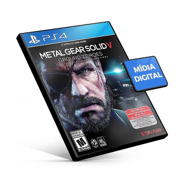 Metal Gear Solid V: Ground Zeroes - PS4 Mídia Digital