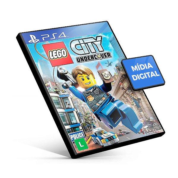 Lego City Undercover - PS4 Mídia Digital