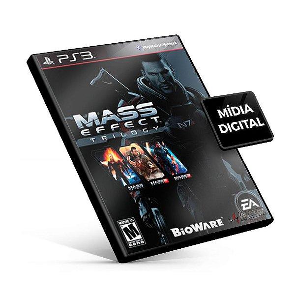 Mass Effect™ Trilogy - PS3 Mídia Digital