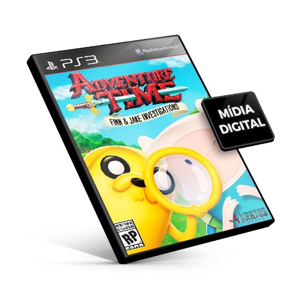 Adventure Time: As investigações de Finn e Jake - PS3 Mídia Digital