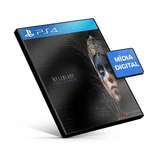 Hellblade: Senua's Sacrifice - PS4 Mídia Digital