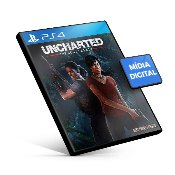 Uncharted: The Lost Legacy - PS4 Mídia Digital