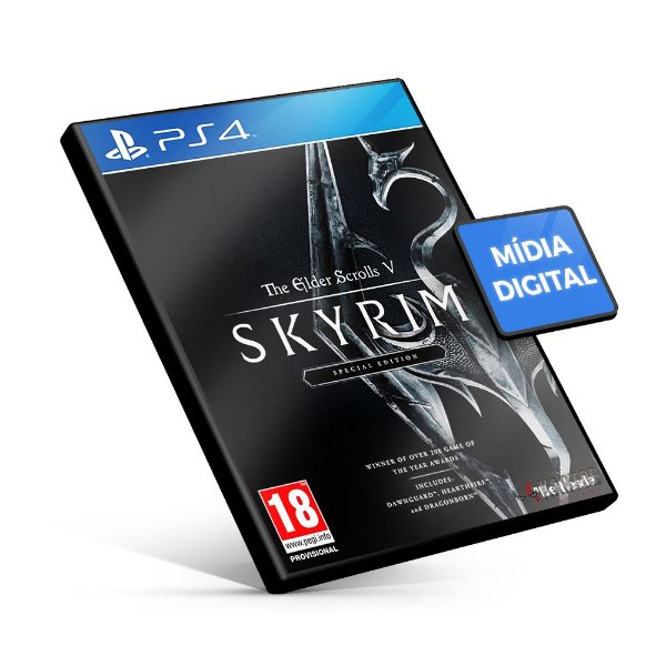 The Elder Scrolls V: Skyrim Special Edition - PS4 Mídia Digital