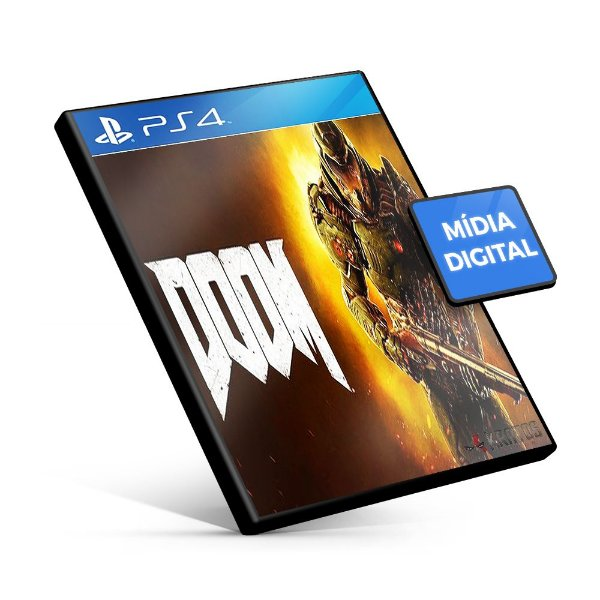 DOOM - PS4 Mídia Digital