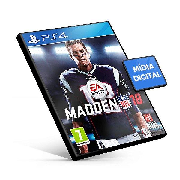 Madden NFL 18 - PS4 Mídia Digital