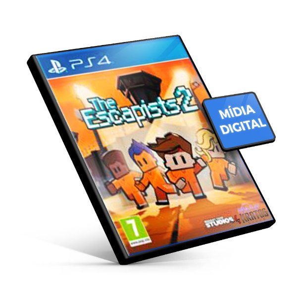 The Escapists 2 - PS4 Mídia Digital