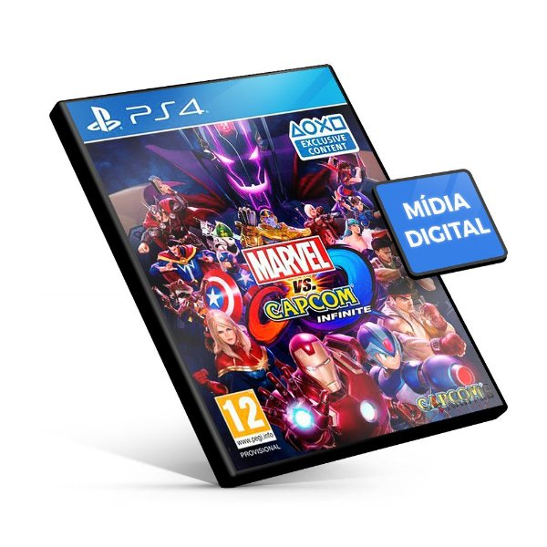 Marvel vs. Capcom: Infinite - PS4 Mídia Digital