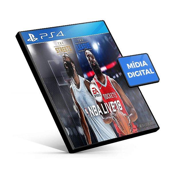 NBA LIVE 18: The One Edition - PS4 Mídia Digital