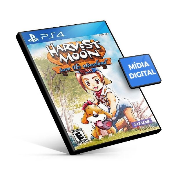 Harvest Moon®: Save the Homeland - PS4 Mídia Digital