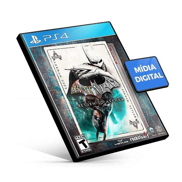 Batman: Return to Arkham - PS4 Mídia Digital