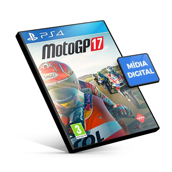 MotoGP 17 - PS4 Mídia Digital